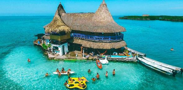 casa en el agua